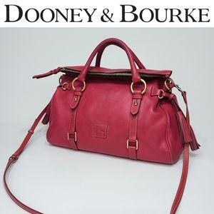 Dooney & Bourke Florentine Medium Raspberry Bag